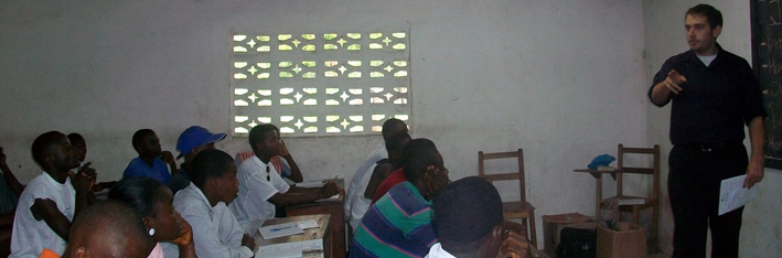 VOLUNTEER TEACHING AND TRAINING Picture - Inner Page